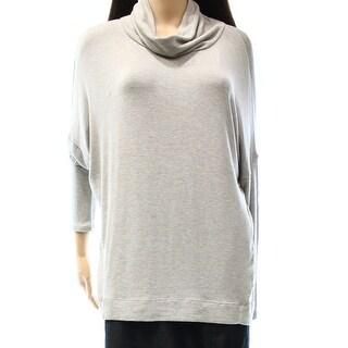 Lauren Ralph Lauren NEW Gray Women's Size XL Dolman Cowl Neck Sweater