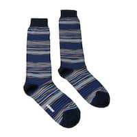 Missoni GM00CMU4658 0002 Blue/Orange Knee Length Socks