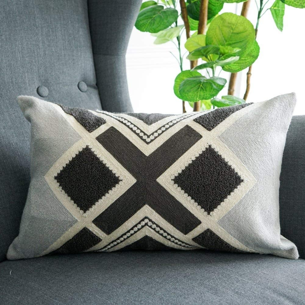Bohemian Small Decorative Throw Pillows for Bed Azetec Pillow Covers