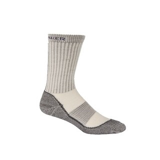 Icebreaker 2014/15 Women's Hike Basic Medium Crew Sock - 100162 - oil/silver