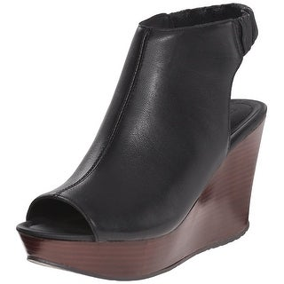 Kenneth Cole Reaction Womens Sole Chick Leather Peep Toe SlingBack Mules (4 options available)