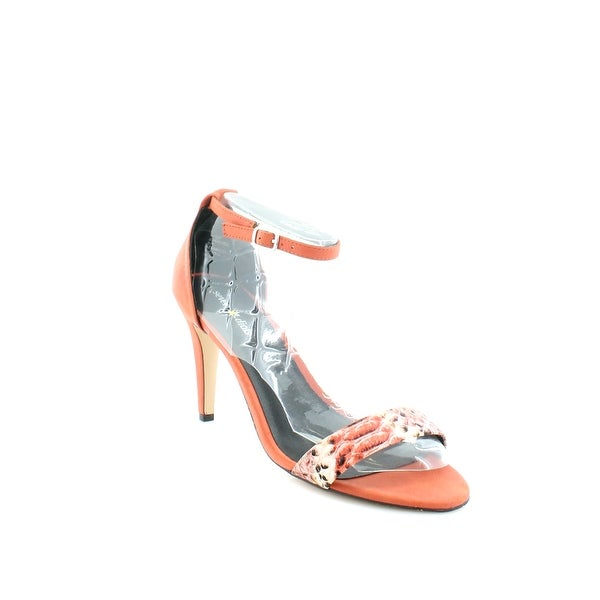 Seven Dials Wickford Women's Heels Coral/Smooth - 9.5