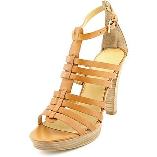 Franco Sarto Bauble Open Toe Leather Sandals
