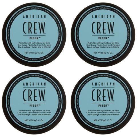 American Crew Fiber 3 oz (Pack of 4)