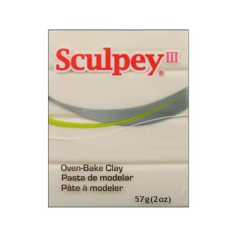 S302 010 polyform sculpey iii 2oz translucent