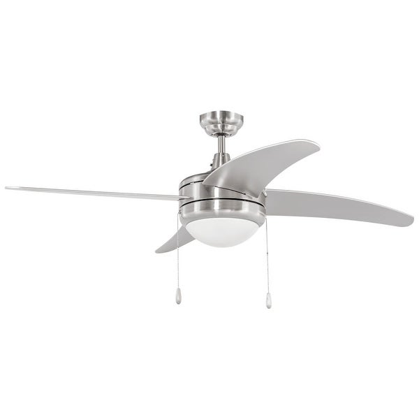 "Miseno MFAN-7001LED 50"" Indoor Ceiling Fan - Includes 4 MDF Blades, Light Kit and Bulbs"