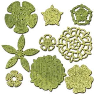 Spellbinders Shapeabilities Dies-Tudor Rose Collection