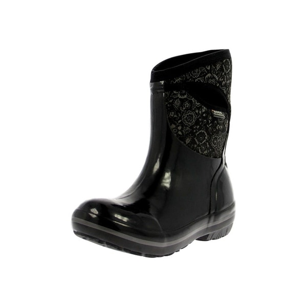 Bogs Outdoor Boots Womens Plimsoll Quilted Floral Mid WP Rubber - Free  Shipping Today - Overstock.com - 22246294