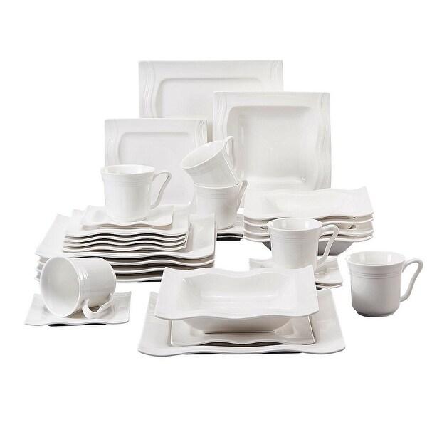 MALACASA Mario Porcelain Dinnerware Set (Service for 6). Opens flyout.