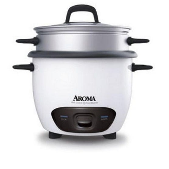 Aroma ARC-743-1NG Rice Cooker, 6 Cup