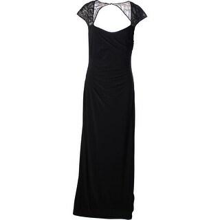 Lauren Ralph Lauren Womens Matte Jersey Prom Evening Dress - 12