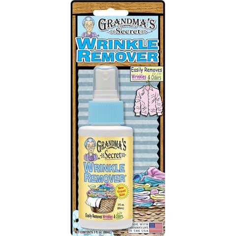 Grandma's Secret Travel Wrinkle Remover Blister Card-3Oz