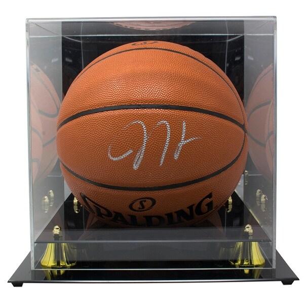 5fa6111a71b Shop James Harden Houston Rockets Signed Spalding NBA Basketball BAS w/  Acylic Case - Free Shipping Today - Overstock - 27465803
