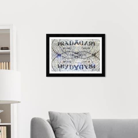 Wynwood Studio 'Seraphina' Fashion and Glam Wall Art Framed Print Road Signs - Gray, Black