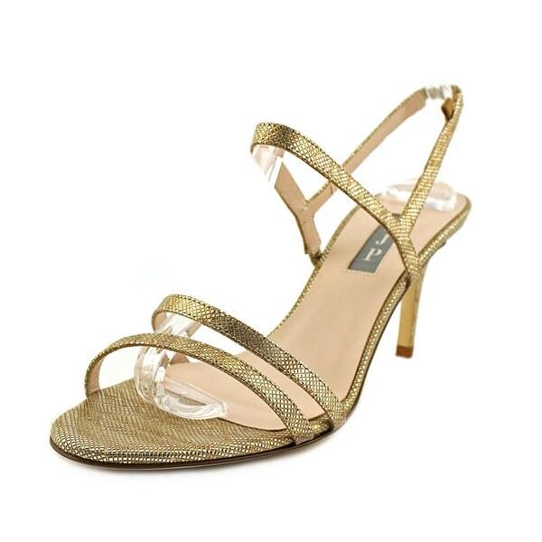 SJP Iva Ma Women Open Toe Synthetic Bronze Sandals