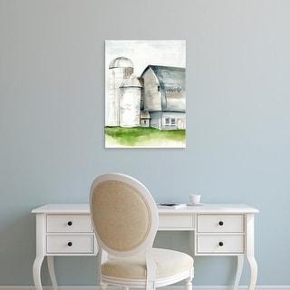 Easy Art Prints Jennifer Paxton Parker's 'Watercolor Barn II' Premium Canvas Art