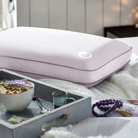 Aromatherapy Lavender Essential Oil-Infused Memory Foam Pillow