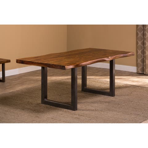 Hillsdale Furniture Emerson Natural Sheesham Rectangle Dining Table