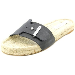 Steve Madden Monicoo Open Toe Leather Slides Sandal