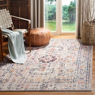 Link to Safavieh Madison Andra Boho Oriental Distressed Rug Similar Items in Rugs