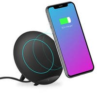 TechComm K10 Wireless Charger Stand For iPhone 8/8 Plus, Samsung Galaxy Note 9 / S9 / S9, Note 8 / S8 / S8 Plus, S7 Edge