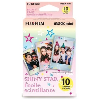 Fujifilm Instax Mini Shiny Star Film Pack (10 Sheets)