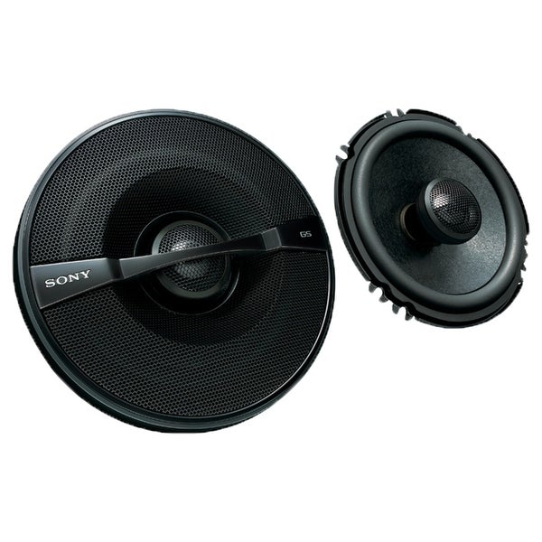 "Sony XS-GS1621 GS-Series 6-1/2"" 2-Way Coaxial Speakers - Pair"