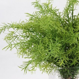 """G Home Collection Artificial Tropical Green Fern Stem 14"""" Tall"""