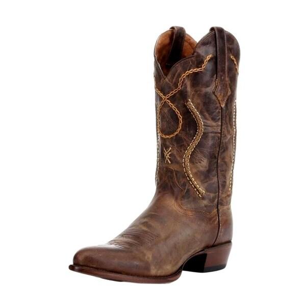Dan Post Western Boots Mens Albany Bucklace Mad Cat Tan