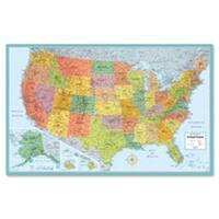 Advantus AVTRM528012762 Rand McNally U.S. Wall Map