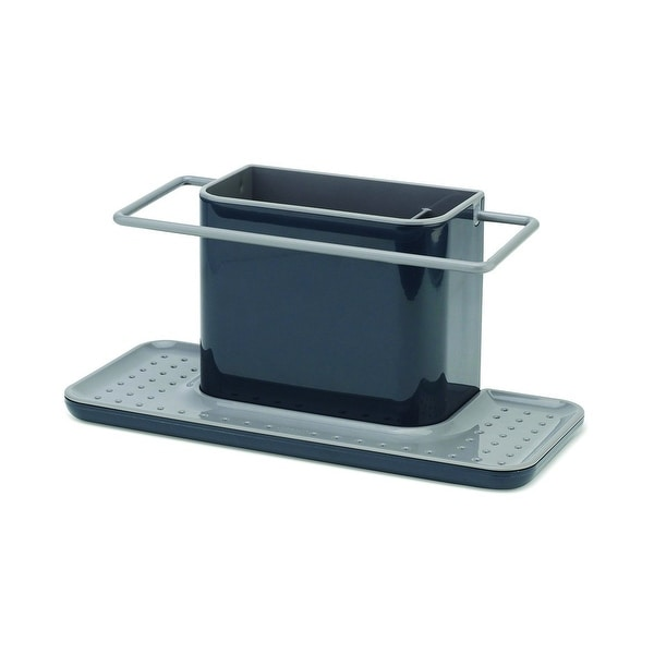 Joseph Sink Caddy Kitchen Organizer Holder Large Gray