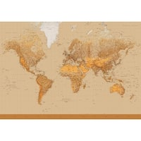 Brewster DM153 The World Wall Mural - N/A
