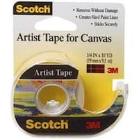 ".75""X10yd - Scotch Artist Tape For Canvas"