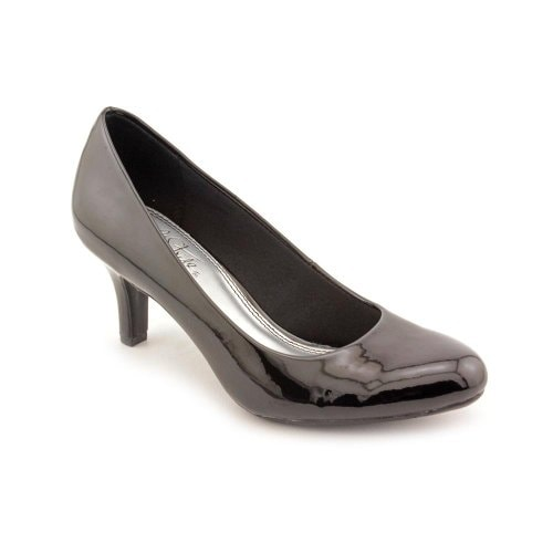 LifeStride Women's Parigi Pump, Black Glory, 9 W US