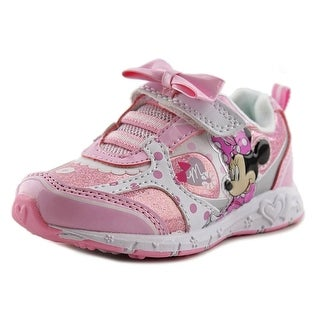 Disney Minnie Sneaker Toddler Round Toe Synthetic Pink Sneakers