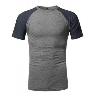 NE PEOPLE Mens U Neck Short Sleeve T-Shirts (6 Colors) NEMT88 (More options available)