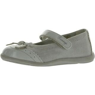 Primigi Girls Ezia Cute European Flats Shoes - argento