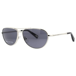 Marc Jacobs MJ 351/S 010/BN Silver Gray Unisex Aviator Sunglasses - 58mm-14mm-140mm