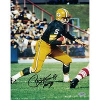 Paul Hornung Signed 8x10 Photo Authenticated Mounted Memories Green Bay Packers