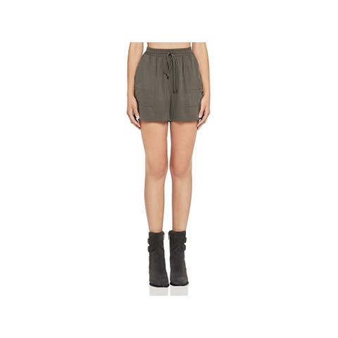 BCBGeneration Womens Shorts Tencel High-Rise - M