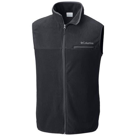 Columbia Women's Mountain Crest Vest, Black/Black,Medium
