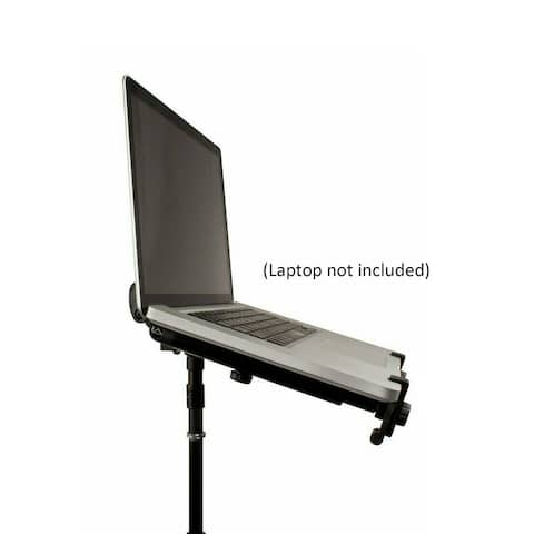 Ultimate Support Dynamic Laptop Stand Mounts to 5/8-in Threaded Stand