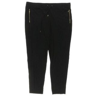 Lauren Ralph Lauren Womens Lounge Pants Ponte Comfort waist