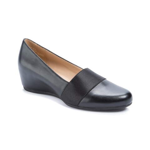 Andrew Geller Secretary Women's Flats & Oxfords Black (Fine Wine PU)