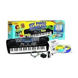 EMEDIA My Piano Starter Pack, Kids Portable KEYBOARD Teaching System, EK05103