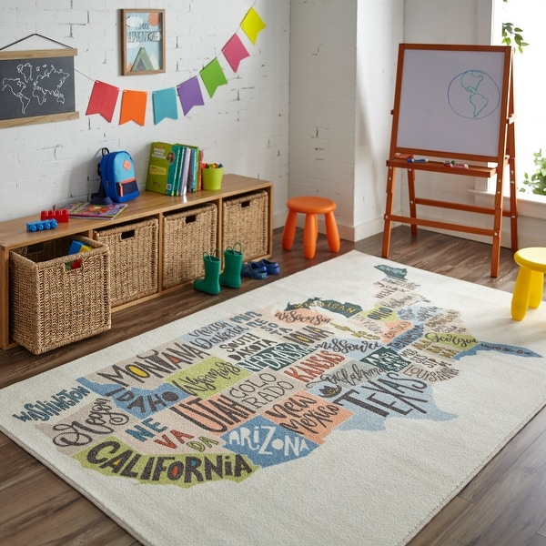 Mohawk Home States Map Educational Kids Area Rug. Opens flyout.