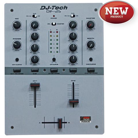 Djtech New Mixerwith Inno Fader