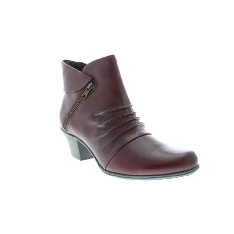 Earth Pegasus Boot Merlot Womens Ankle & Booties Boots