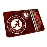 Officially Licensed Alabama Crimson Tide Non-Skid Throw Rug 20 x 30 inch - Red