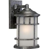 "Nuvo Lighting 60/5632 Manor 8"" Width 1 Light Outdoor Lantern Wall Sconce"